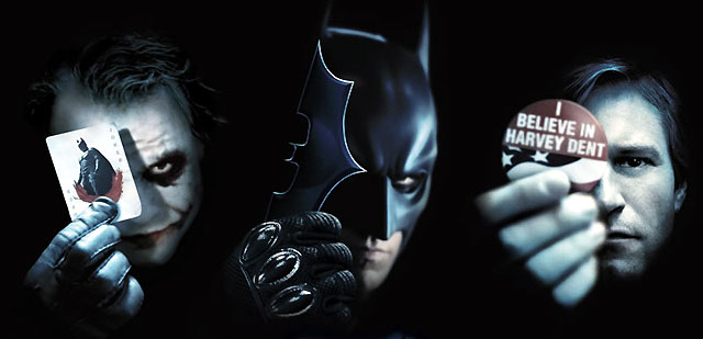 Dark Knight - Joker, Batman, Dent