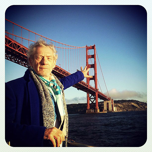 Magneto returns the Golden Gate Bridge