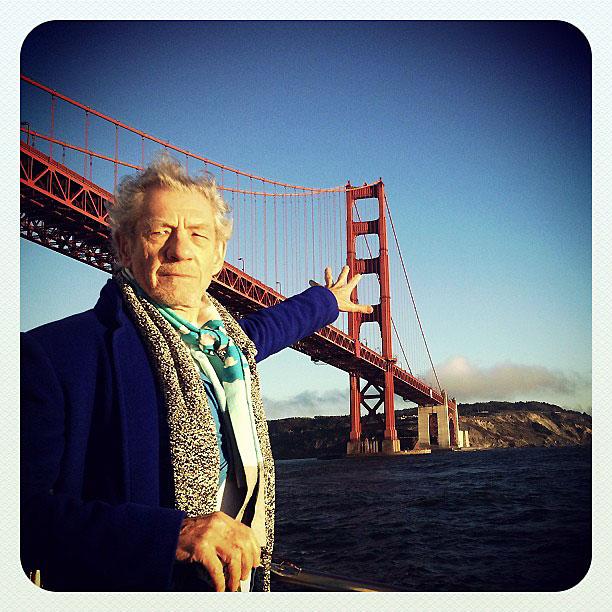 Magneto returns the Golden Gate Bridge