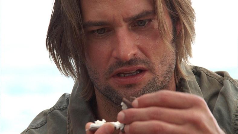 Sawyer pierde contra la Oreo. 'Lost' - S02e18 - 'Dave'