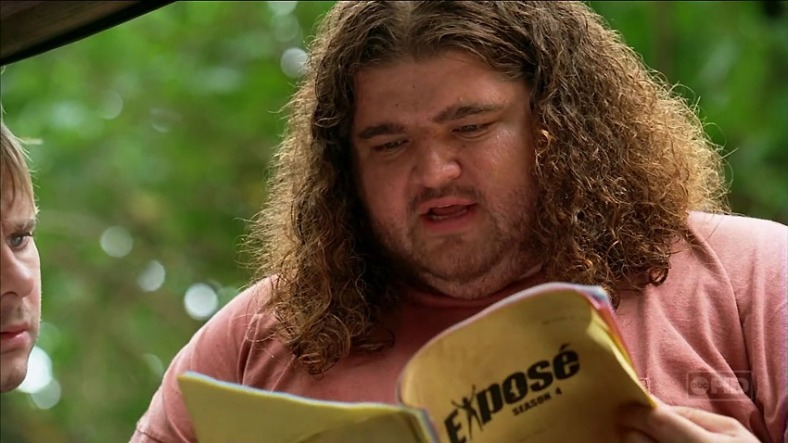 Lost Rewatch - s03e14 - Hurley lee el guión de 'Exposé'